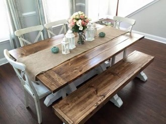 Popular Winter Dining Room Decorations On Your Table 13