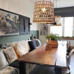 Popular Winter Dining Room Decorations On Your Table 21