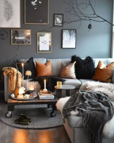 Stunning Winter Living Room Decor Ideas You Should Try 12