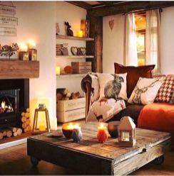 Stunning Winter Living Room Decor Ideas You Should Try 28
