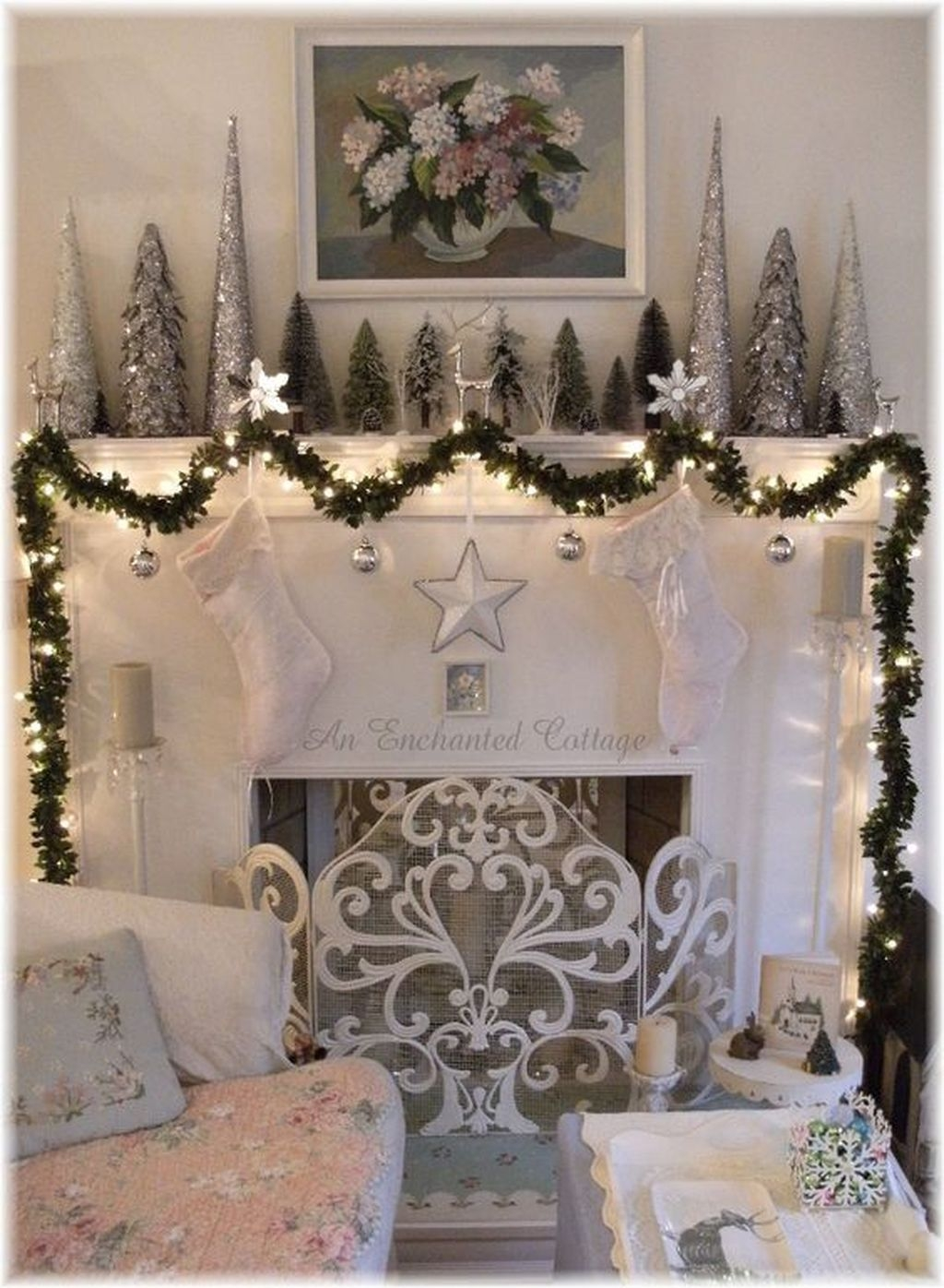 The Best Christmas Fireplace Decoration For Any Home Model 24