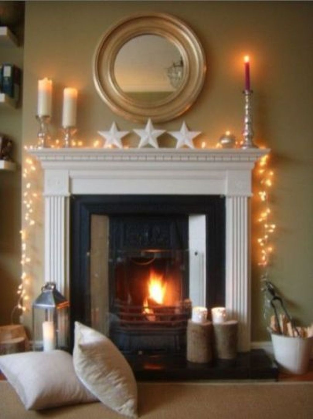 The Best Christmas Fireplace Decoration For Any Home Model 29