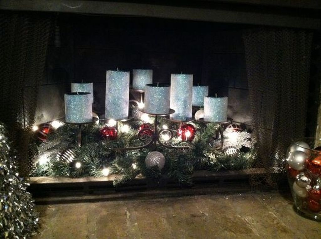 The Best Christmas Fireplace Decoration For Any Home Model 34