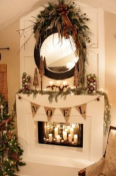 The Best Christmas Fireplace Decoration For Any Home Model 35