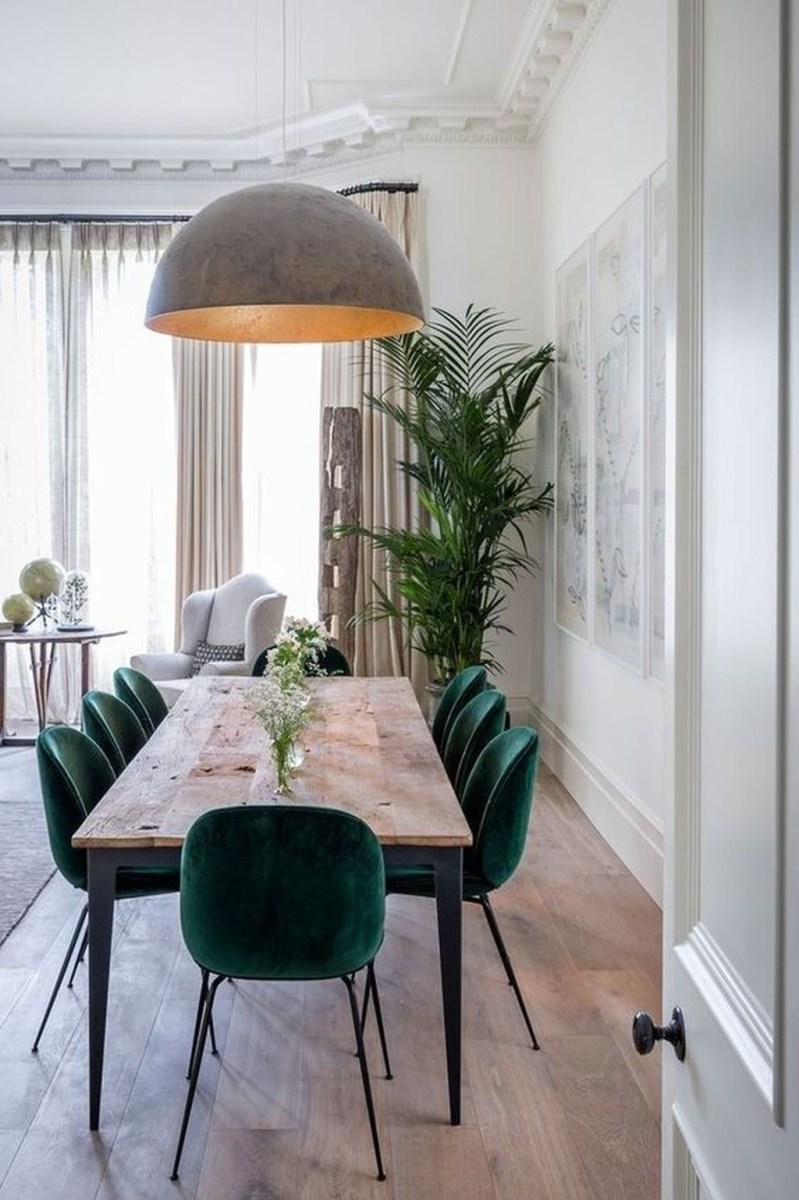 The Best Winter Dining Room Decorations 28