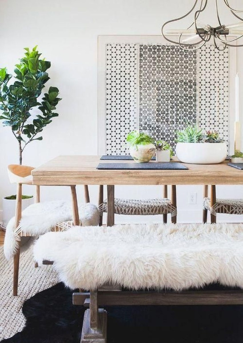 The Best Winter Dining Room Decorations 42