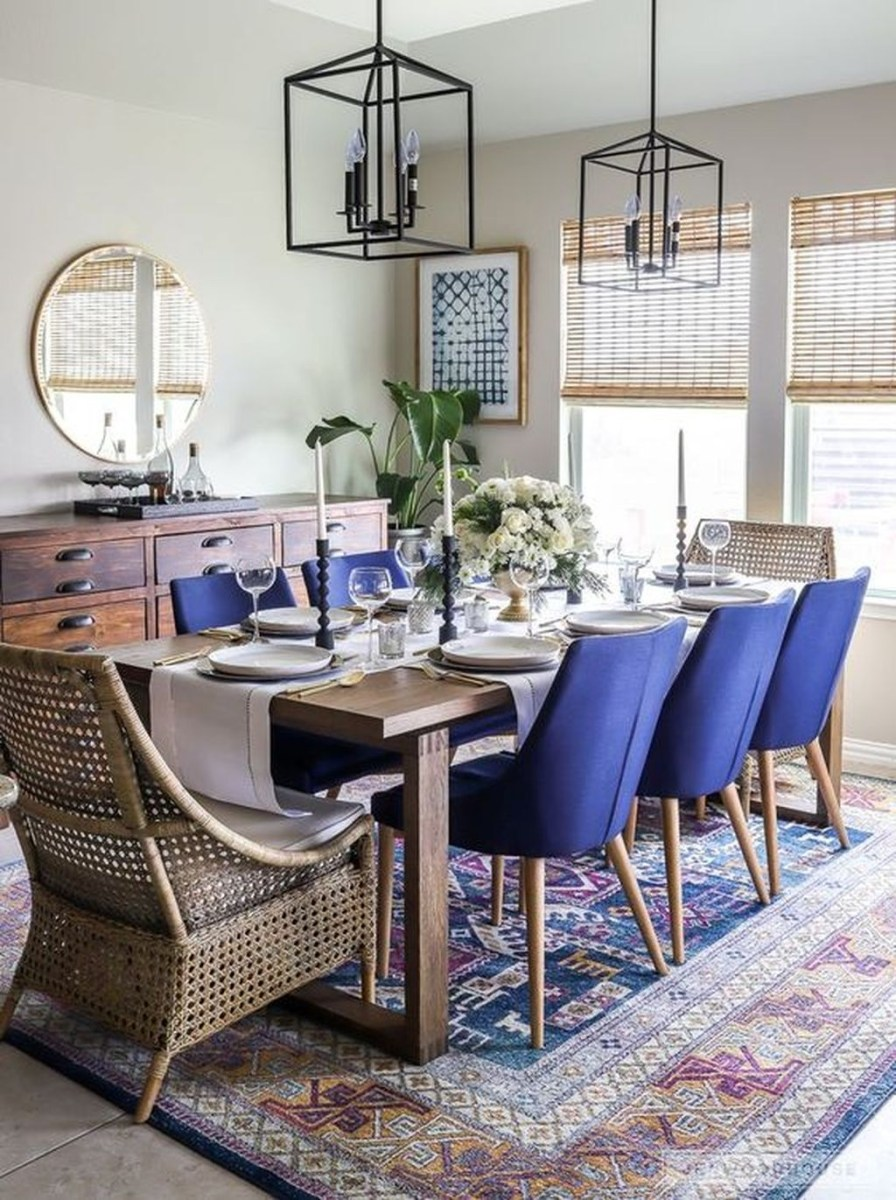 The Best Winter Dining Room Decorations 44