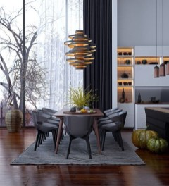The Best Winter Dining Room Decorations 46