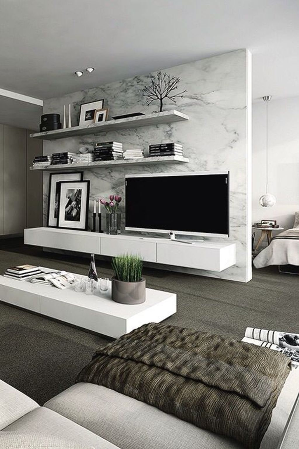 Amazing Modern Living Room Design Ideas 19