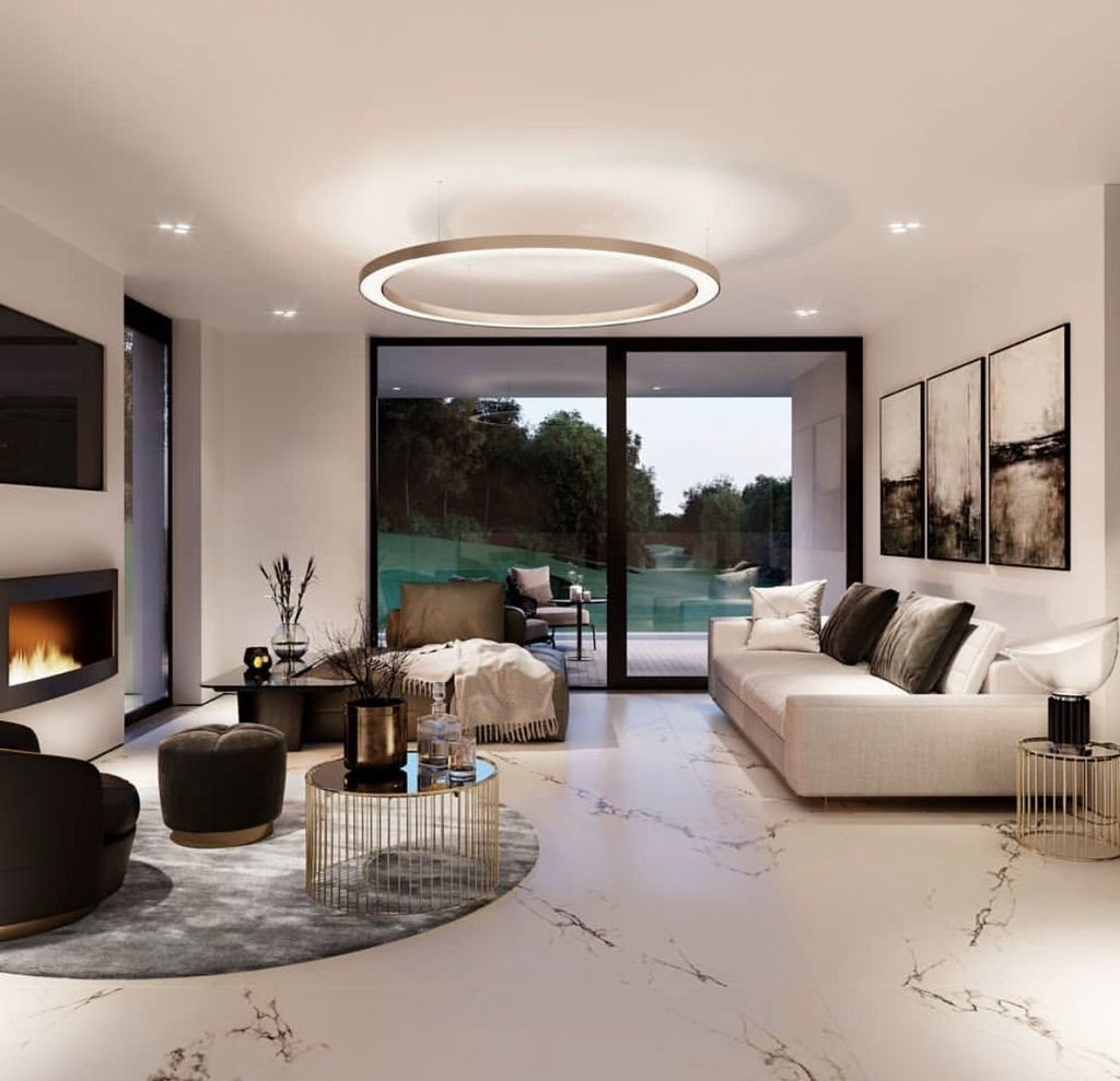 Amazing Modern Living Room Design Ideas 37