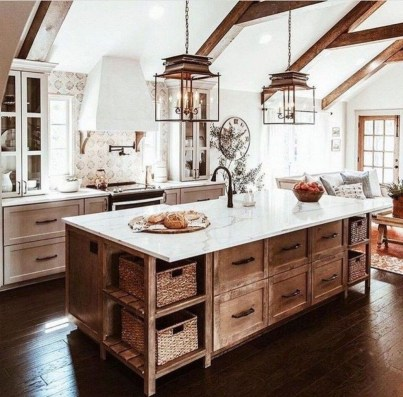 Amazing Remodeling Farmhouse Kitchen Decorations 10