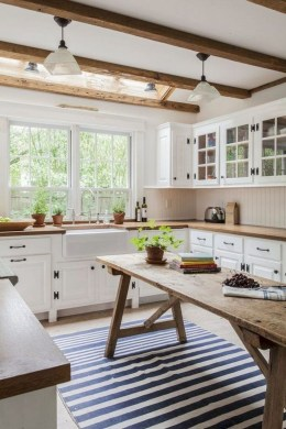 Amazing Remodeling Farmhouse Kitchen Decorations 19