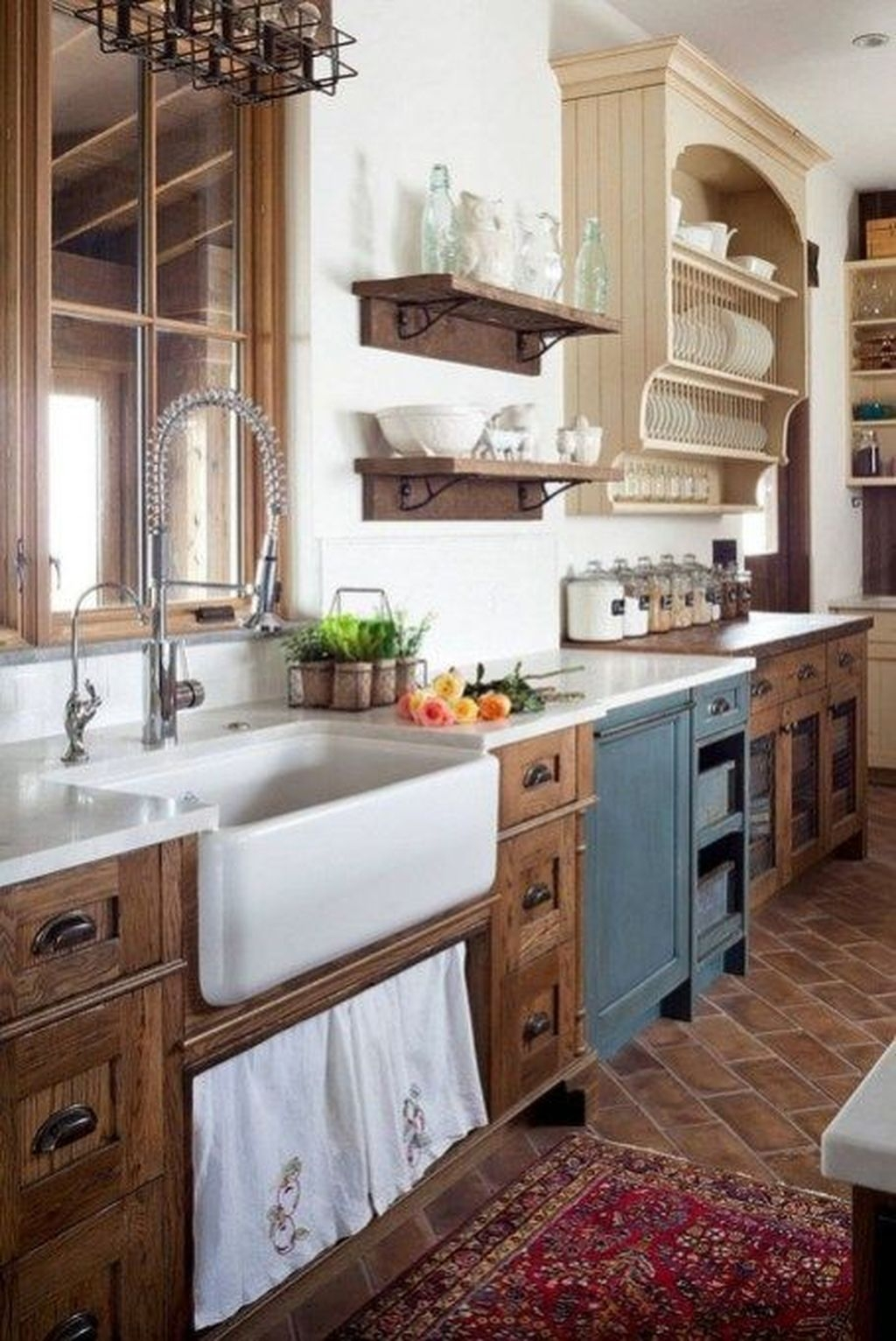 Amazing Remodeling Farmhouse Kitchen Decorations 24