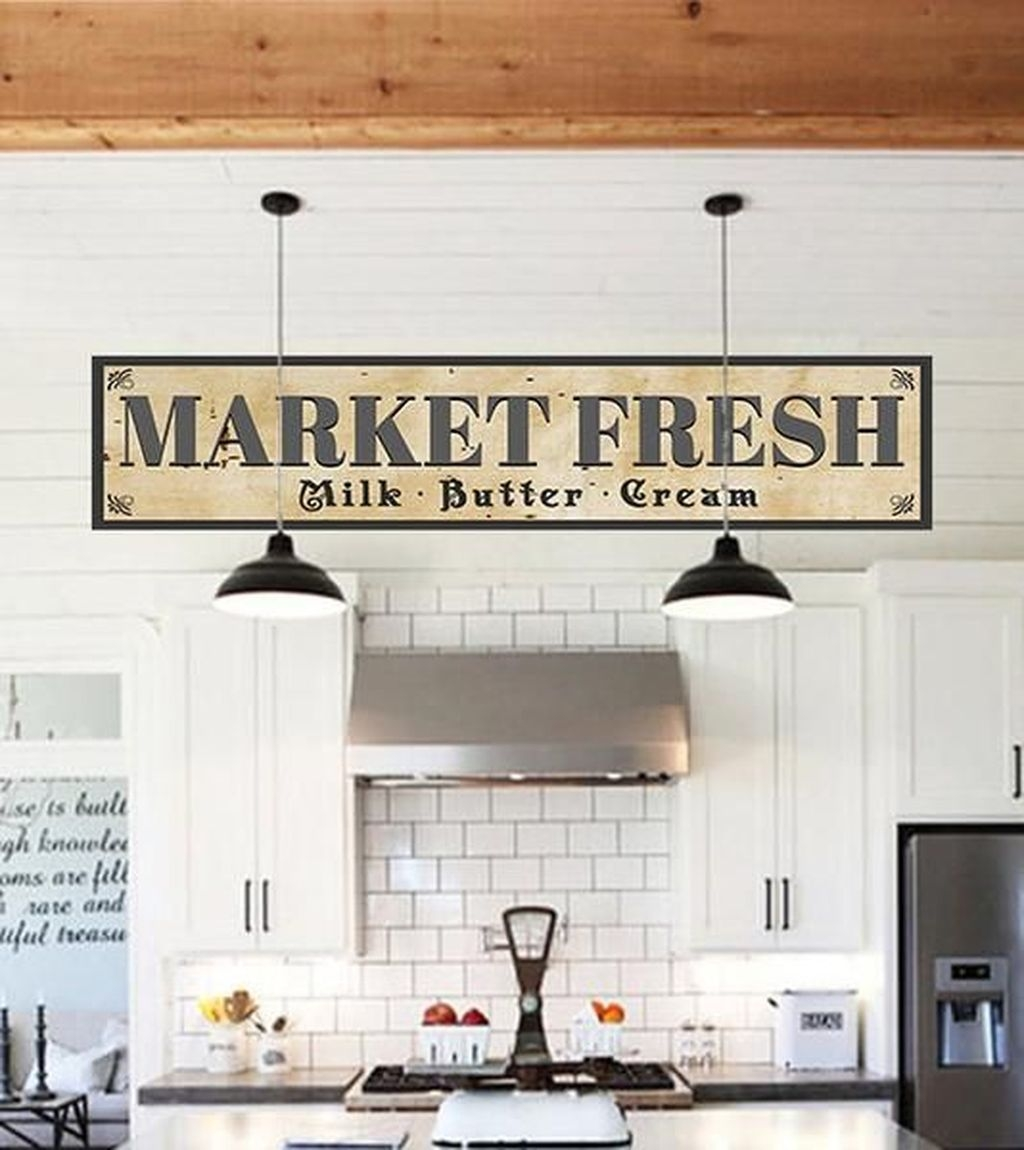 Amazing Remodeling Farmhouse Kitchen Decorations 34