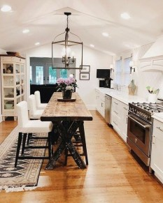 Amazing Remodeling Farmhouse Kitchen Decorations 50
