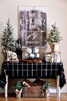 Applying Wooden Planks Correctly To Make Rustic Winter Home Decoration 38