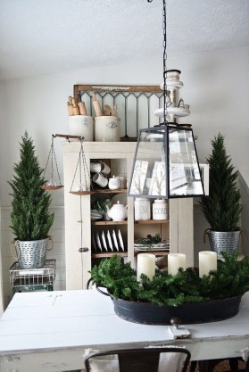 Applying Wooden Planks Correctly To Make Rustic Winter Home Decoration 42