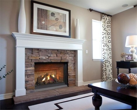Awesome Fireplace Design Ideas For Small Houses 27