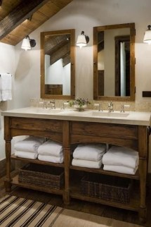 Awesome Winter Bathroom Decor You Need To Have 24