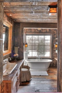 Awesome Winter Bathroom Decor You Need To Have 46