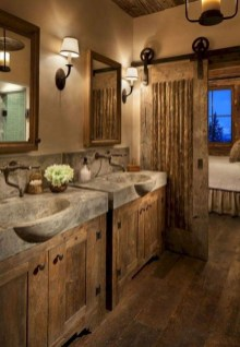Awesome Winter Bathroom Decor You Need To Have 47