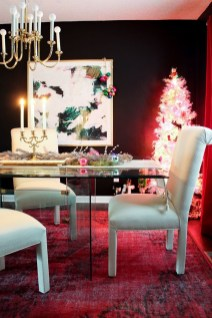 Beautiful Christmas Dining Room Decor Ideas Should You Apply This Winter 02