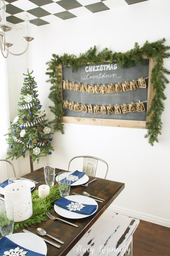 Beautiful Christmas Dining Room Decor Ideas Should You Apply This Winter 48