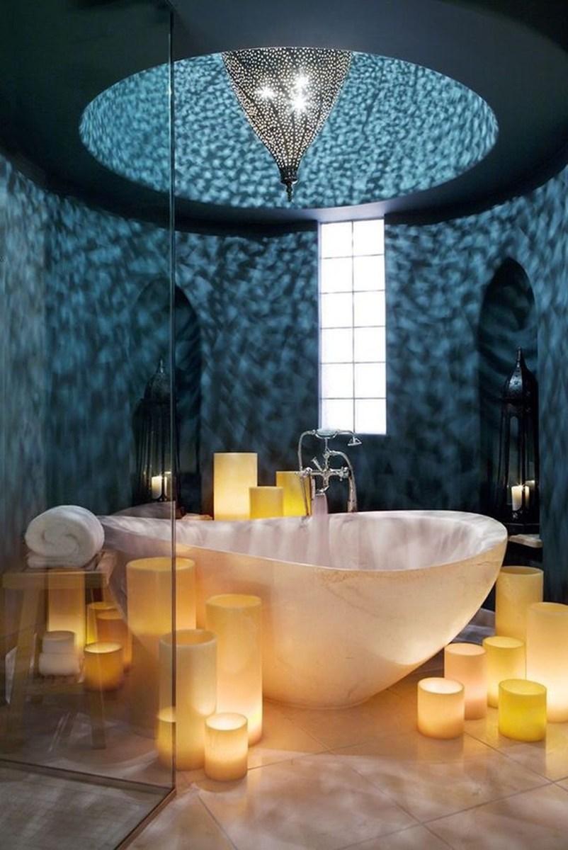 Beautiful Romantic Bathroom Decorations 08