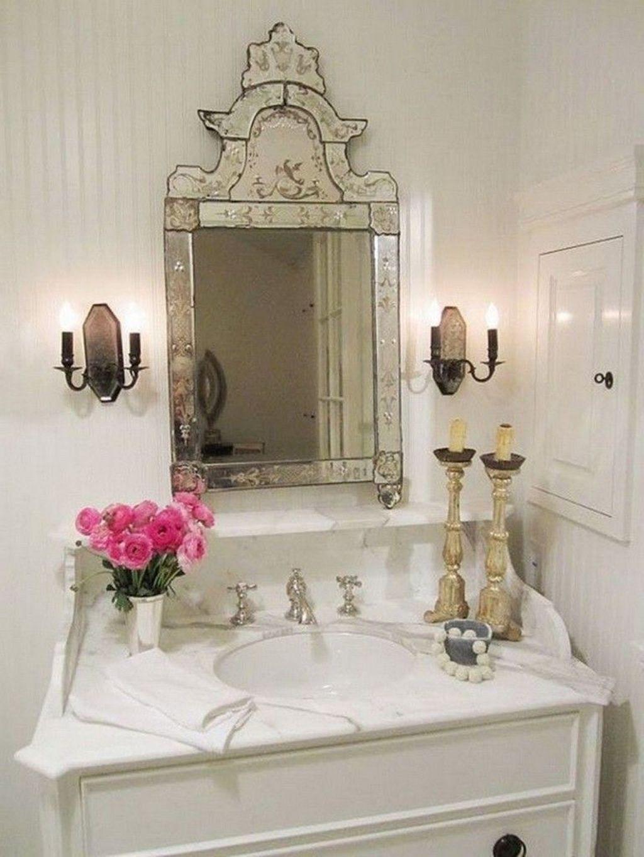Beautiful Romantic Bathroom Decorations 11