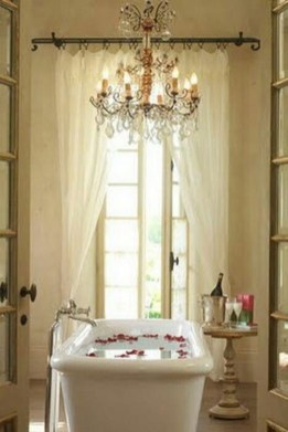 Beautiful Romantic Bathroom Decorations 39