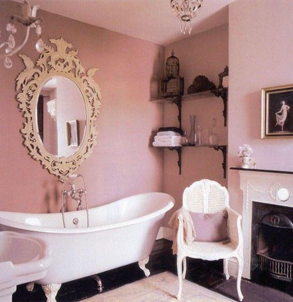 Beautiful Romantic Bathroom Decorations 42