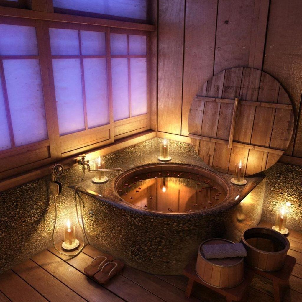 Beautiful Romantic Bathroom Decorations 50