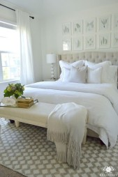 Beautiful White Bedroom Design Ideas 10