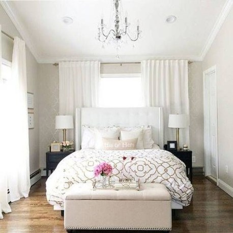Beautiful White Bedroom Design Ideas 15