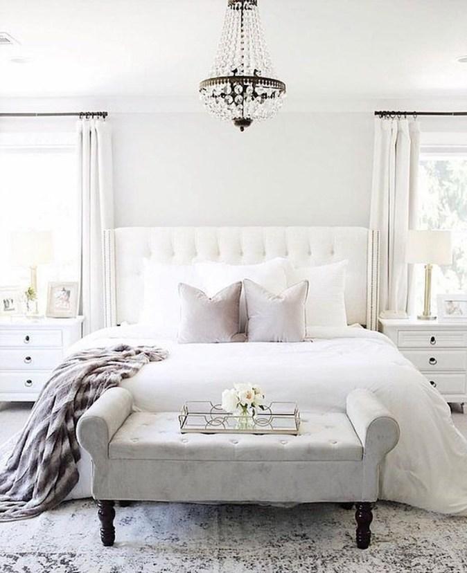 Beautiful White Bedroom Design Ideas 16