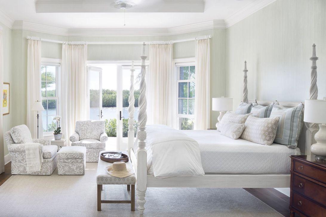 Beautiful White Bedroom Design Ideas 47