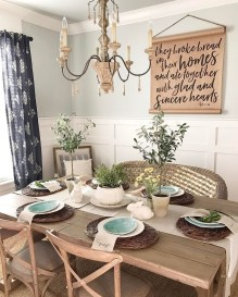 Choosing The Right Farmhouse Dining Room Table 47