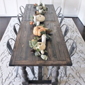 Choosing The Right Farmhouse Dining Room Table 49