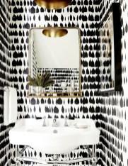 Modern Minimalist House Design In Black And White Color Scheme 16