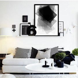 Modern Minimalist House Design In Black And White Color Scheme 23