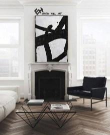 Modern Minimalist House Design In Black And White Color Scheme 25