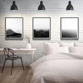 Modern Minimalist House Design In Black And White Color Scheme 26