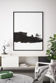 Modern Minimalist House Design In Black And White Color Scheme 27