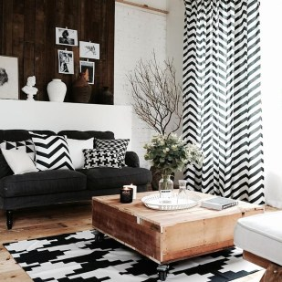 Modern Minimalist House Design In Black And White Color Scheme 48