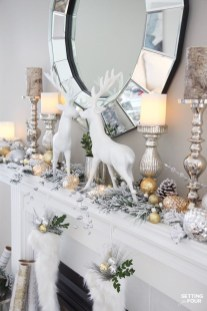 Nice Mantel Decorations Best For Winter 14