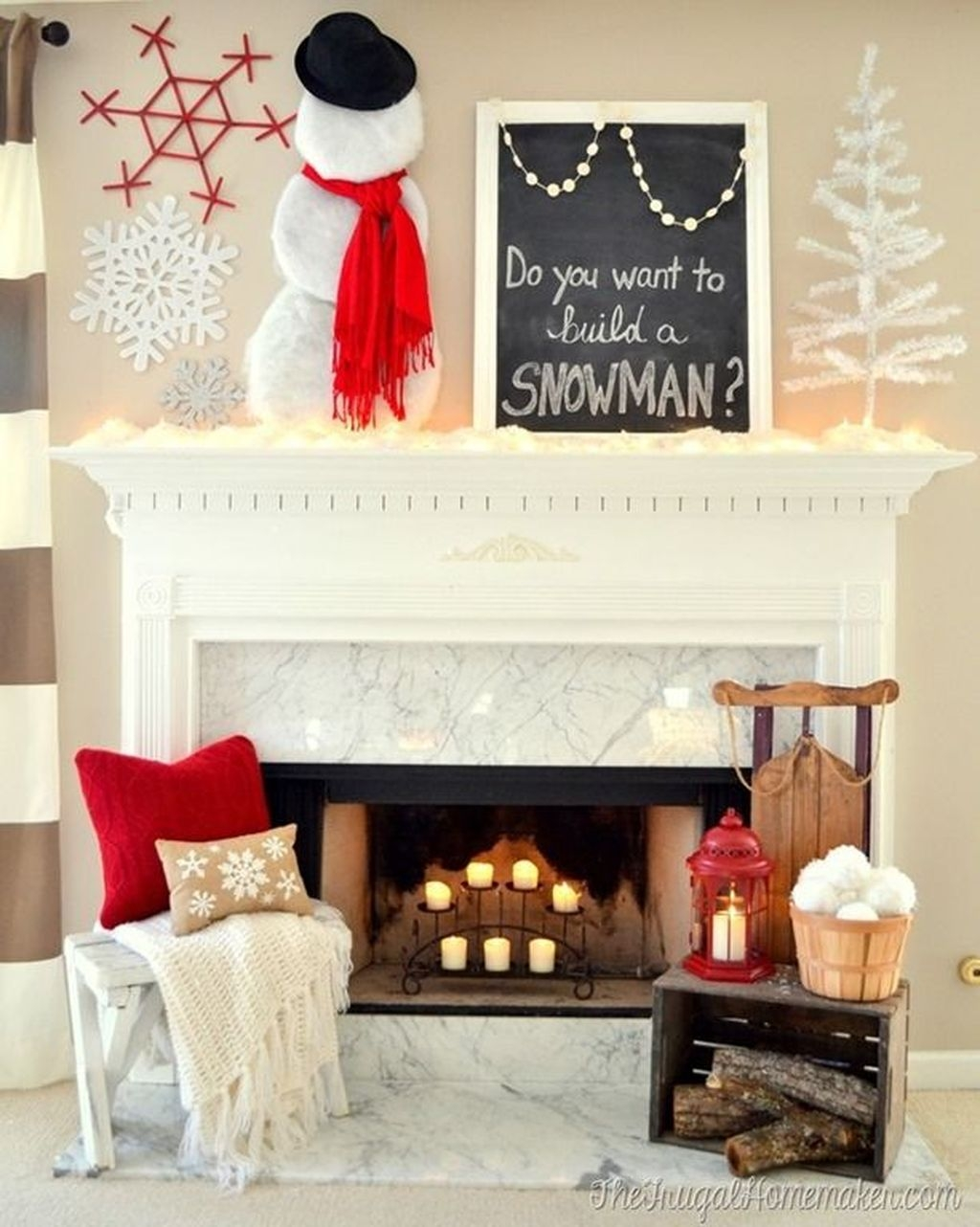Nice Mantel Decorations Best For Winter 15
