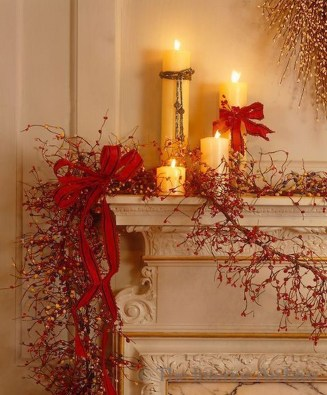 Nice Mantel Decorations Best For Winter 26