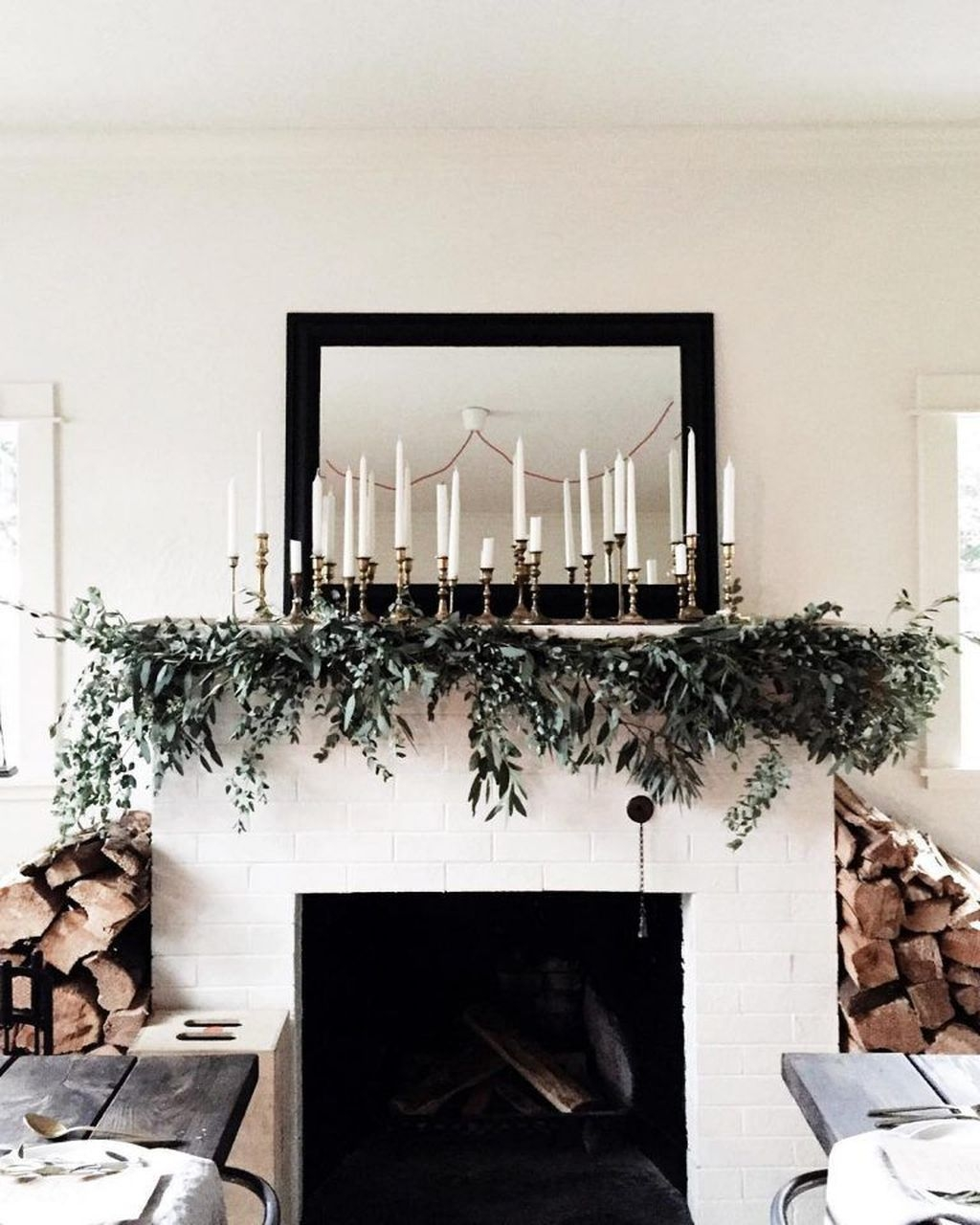 Nice Mantel Decorations Best For Winter 43