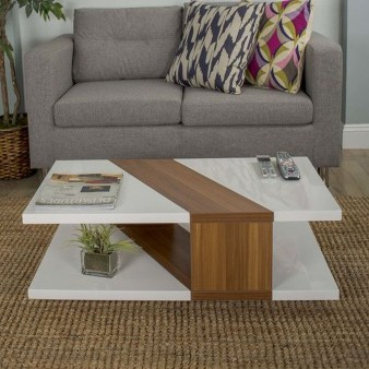 Popular Modern Coffee Table Ideas For Living Room 22