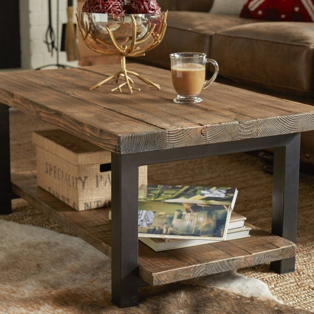 Popular Modern Coffee Table Ideas For Living Room 42